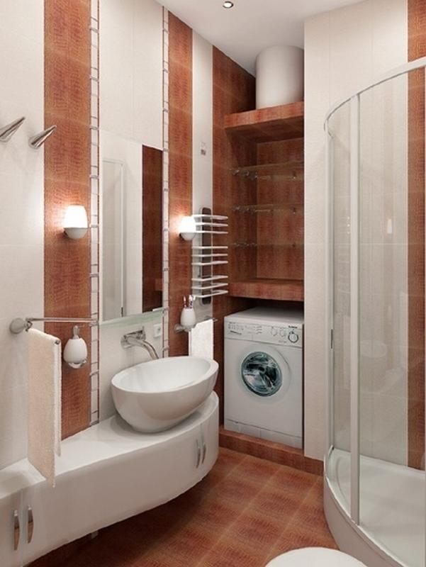 интерьеры для маленьких ванн
