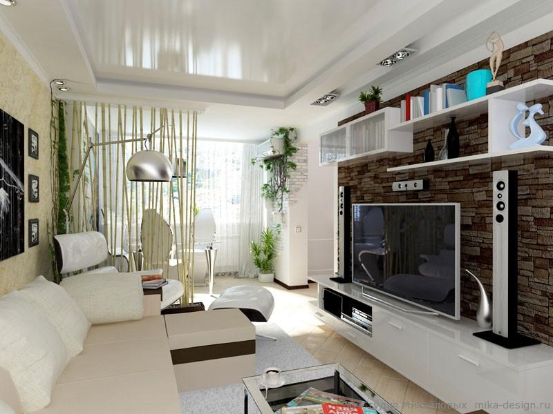 Гостиная в 2 комнатной хрущевки дизайн.