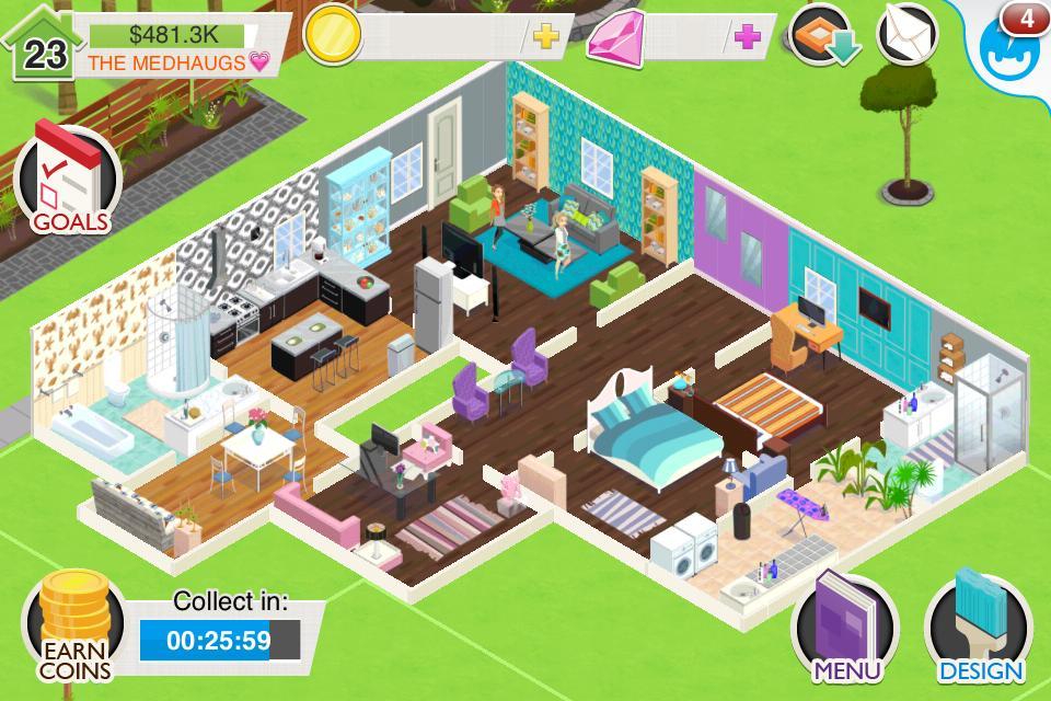 Игра дизайн дома онлайн бесплатно