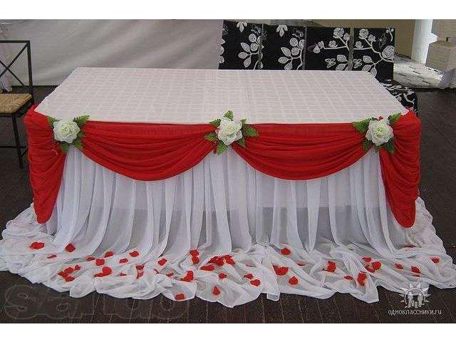 Свадебные скатерти на стол своими руками 79