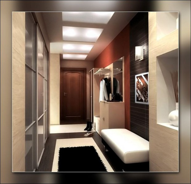 Дизайн коридора в квартире 2014