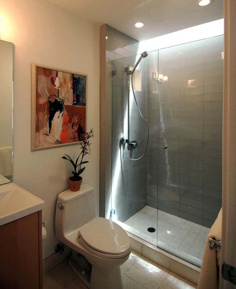 как оформить ванную комнату душевой кабиной девушек моделей