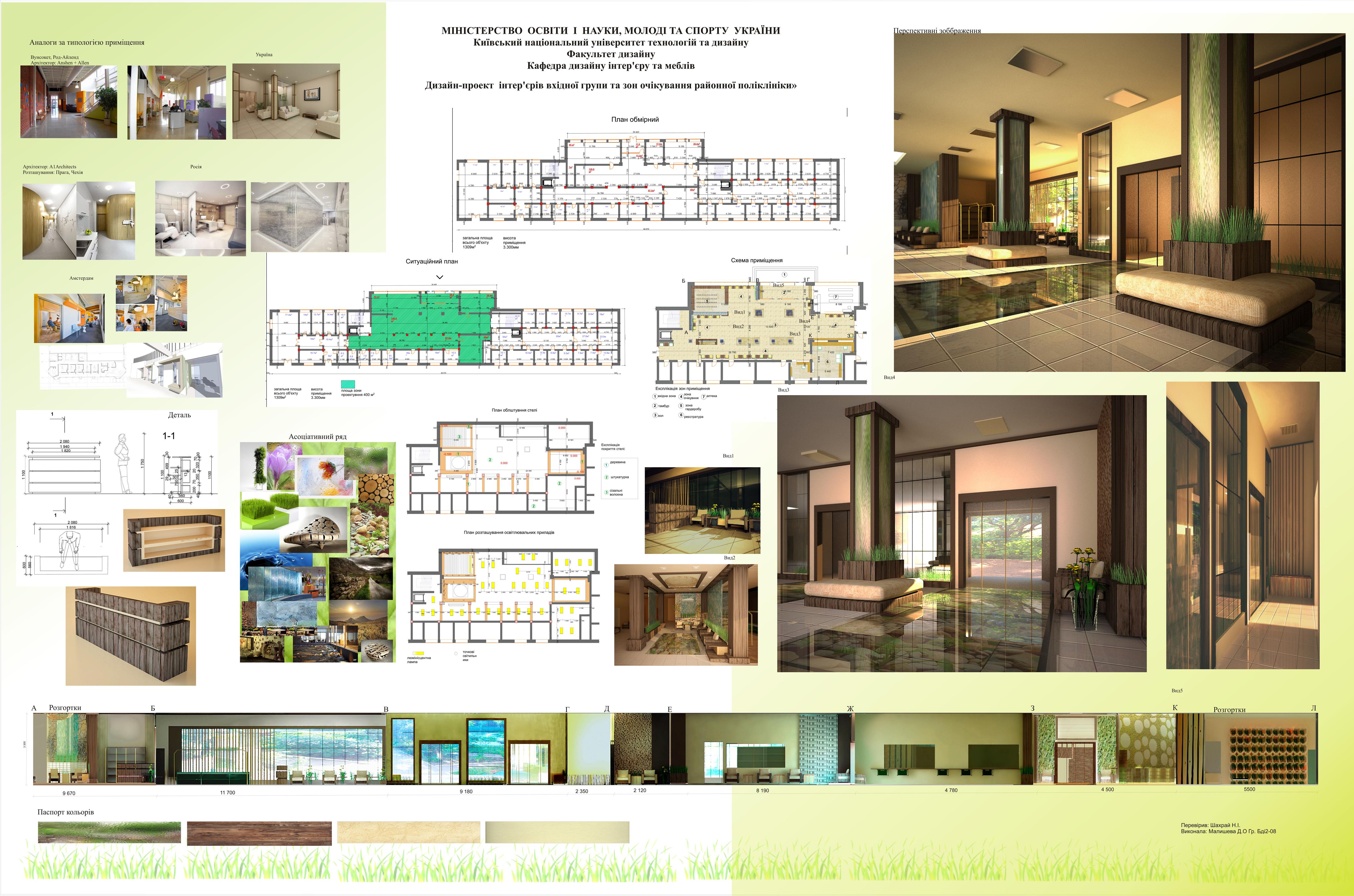 Дипломная работа дизайн интерьера салона красоты Картинки и  prevnext