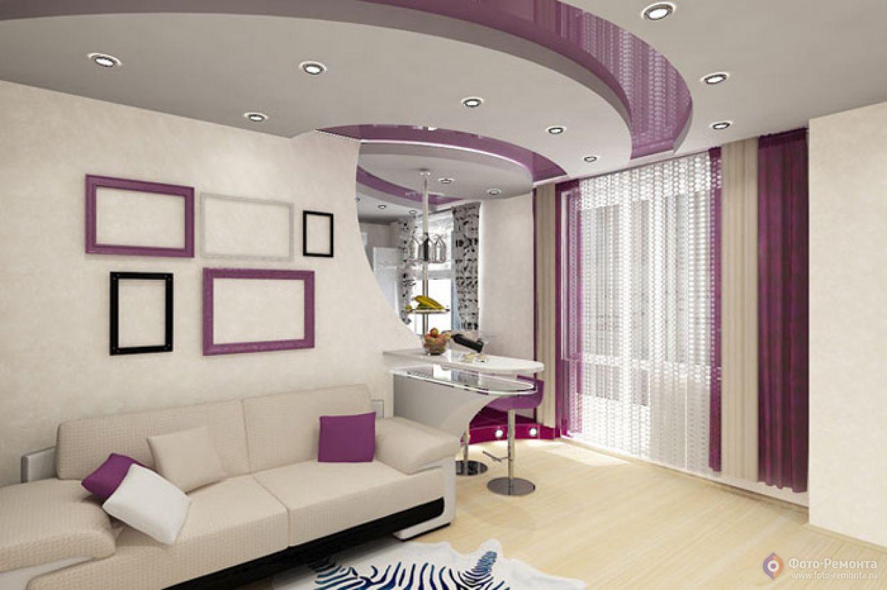"""Сочетание цветов в интерьере однокомнатной квартире """" картин."""