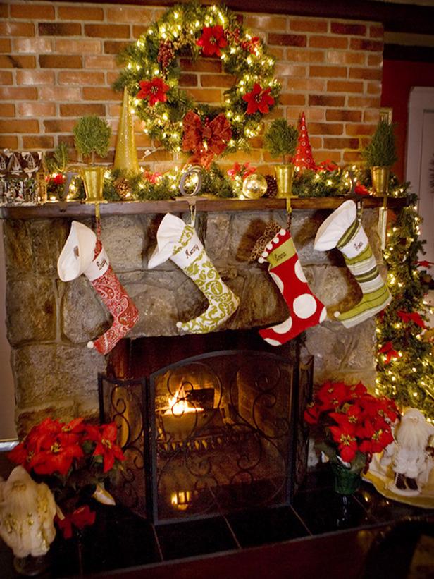 рождественский камин своими руками качественном термобелье
