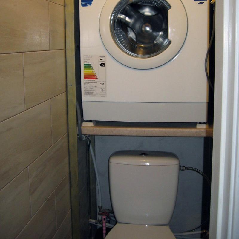Дизайн ванной комнаты в хрущевке (100 фото): интерьер со ...