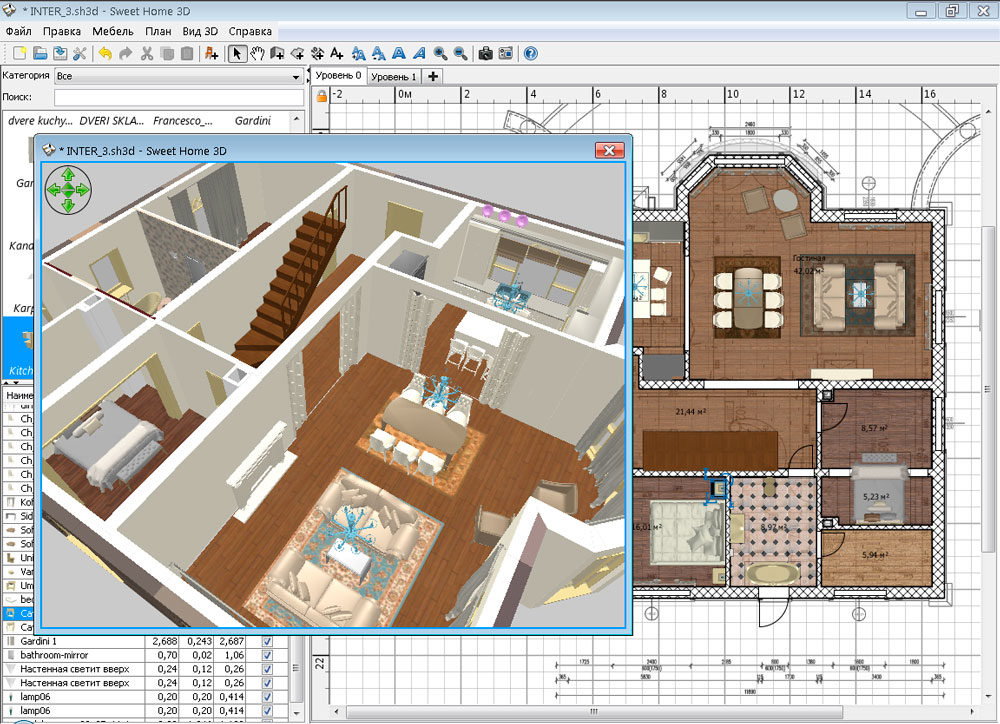 Скачать программу проектирования квартир