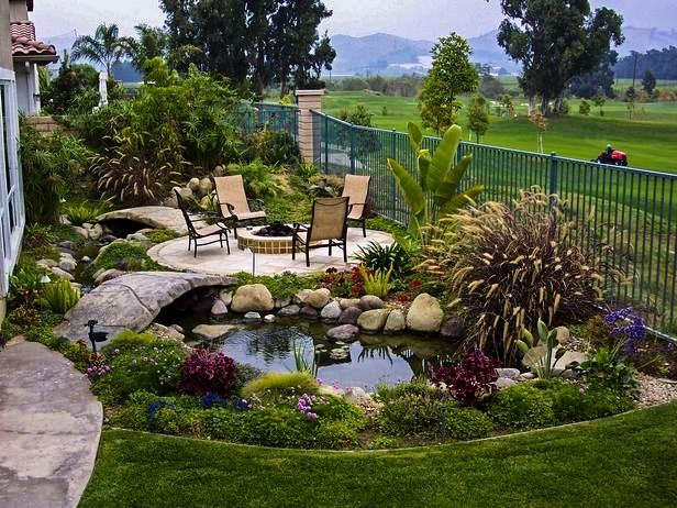 Дизайн двор дома своими руками фото 169