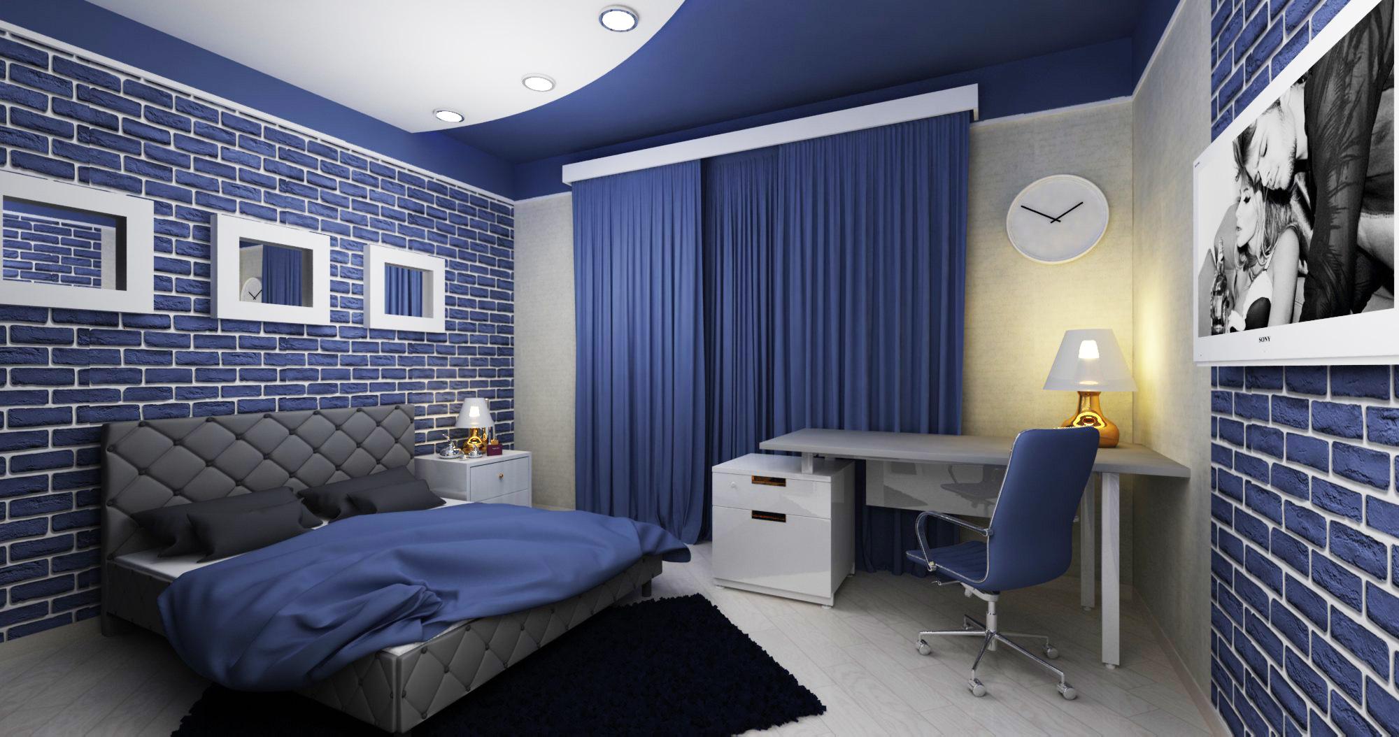 модные мебелировки комнат для юношей