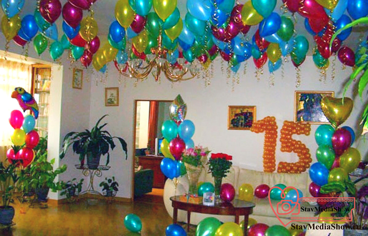 Как украсить комнату на день рождения своими руками для мужа фото 586