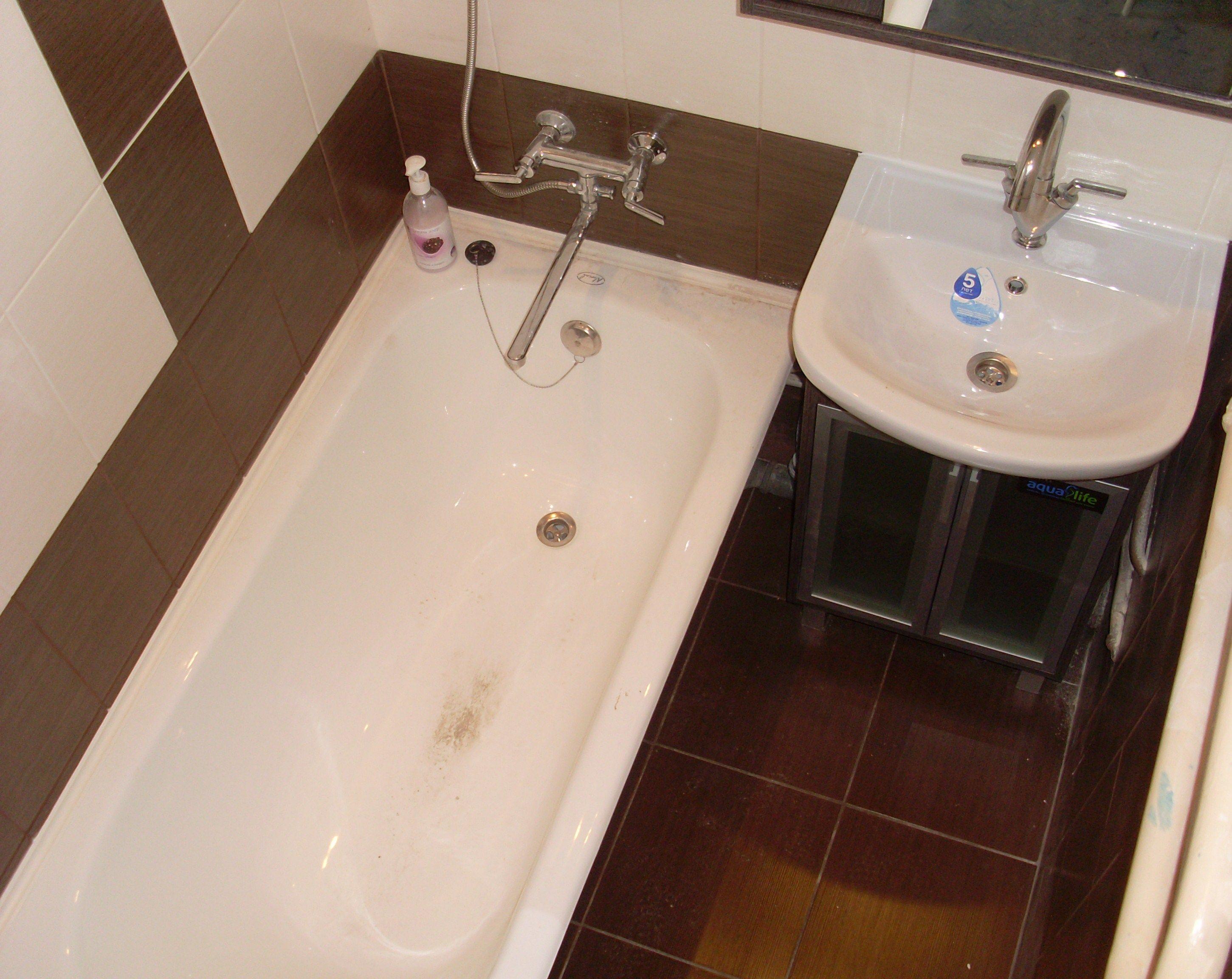 ванная комната в панельном доме своими руками помнить, что