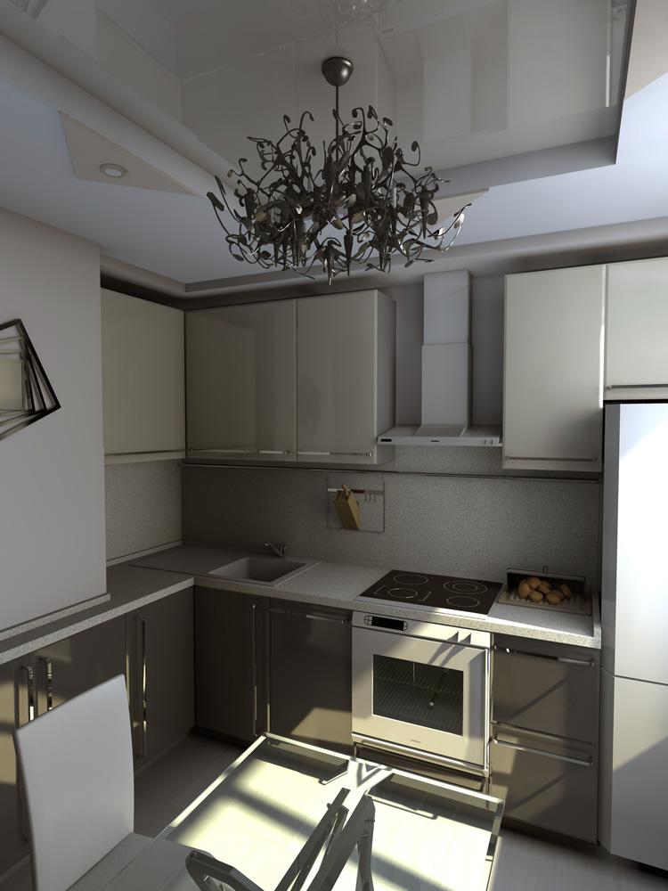 Дизайн кухни п-44