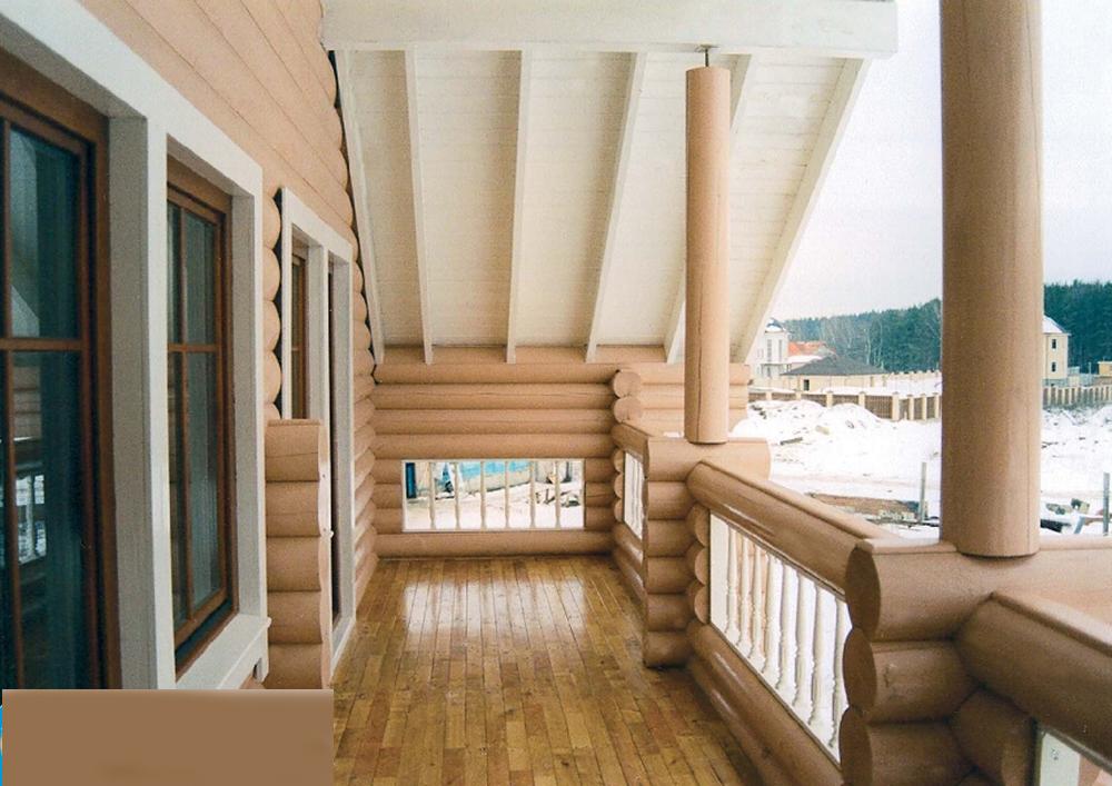 """Дизайн балконов в частных домах """" картинки и фотографии диза."""