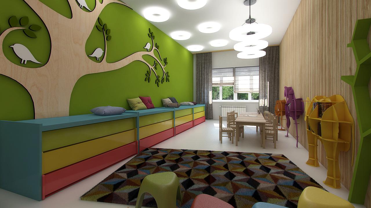Дизайн и оформление детского сада