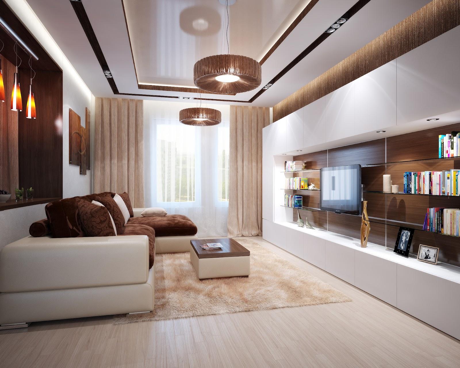 дизайн угловой гостиной комнаты