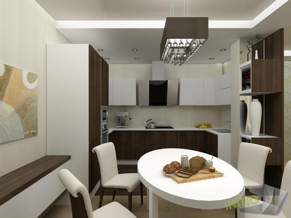 """Дизайн интерьера п-образной кухни """" картинки и фотографии ди."""