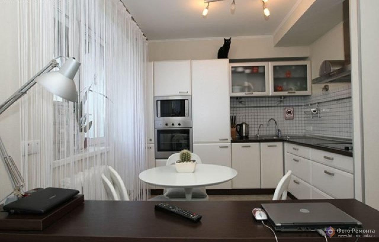 Наглядные фото кухни в стиле модерн.