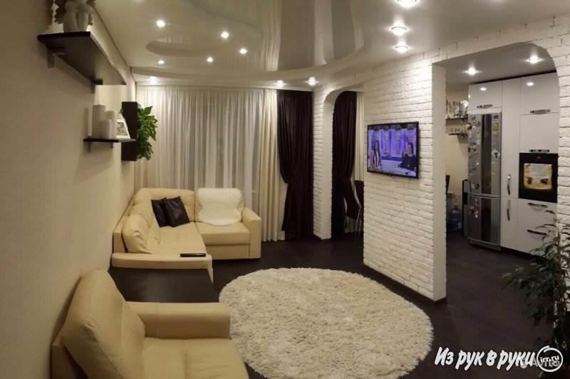 """Дизайн 3 комнатной квартиры 63 кв.м """" картинки и фотографии ."""