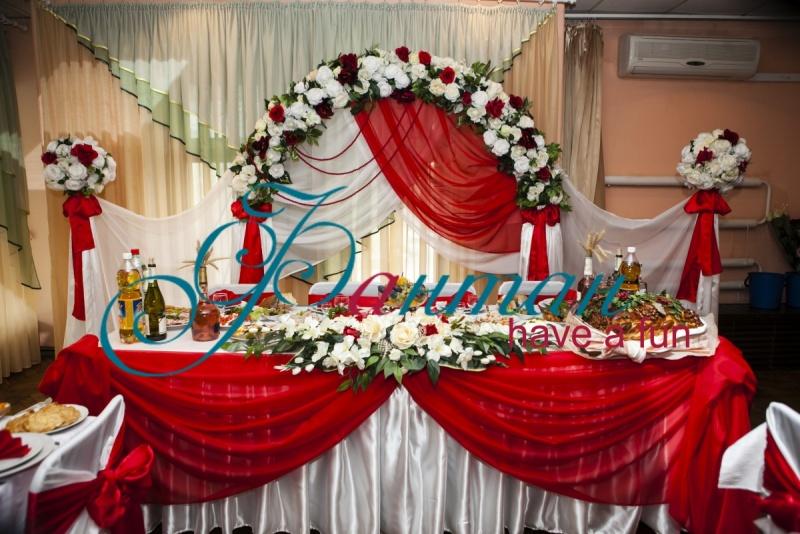 Оформление стола невесты своими руками фото 161