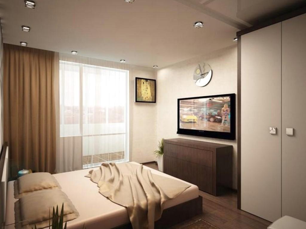 Как оформляется спальня 12 кв. м - реальный дизайн. фото инт.