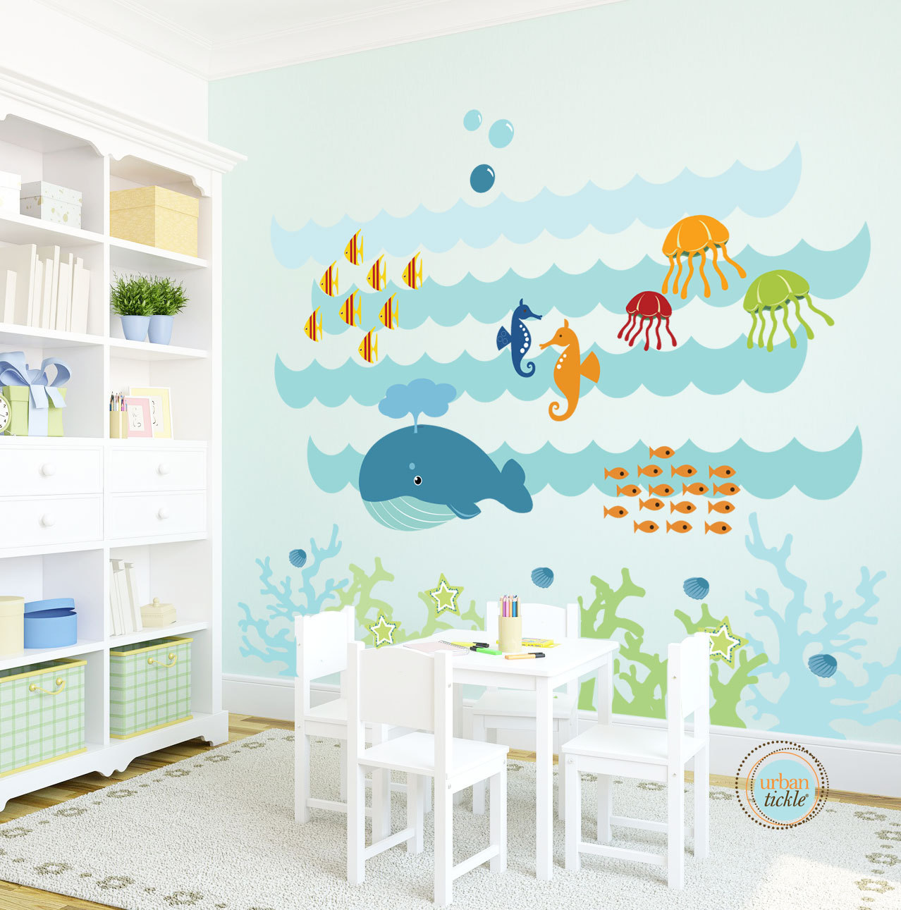 Interesting wall decals