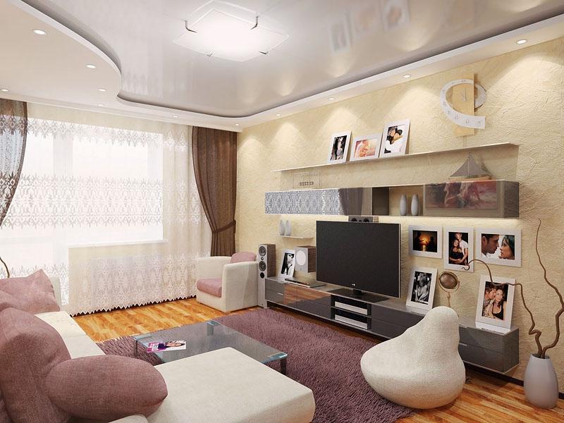 Дизайн гостиной комнаты 20 фото Ремонт и