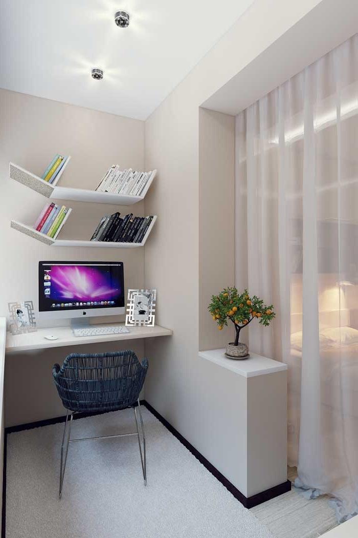 """Дизайн комнаты совмещенной с балконом фото """" картинки и фото."""
