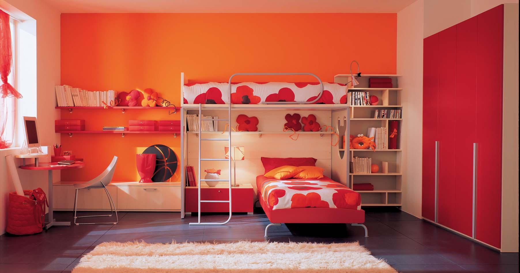 Red Bedrooms  Interior Design Ideas