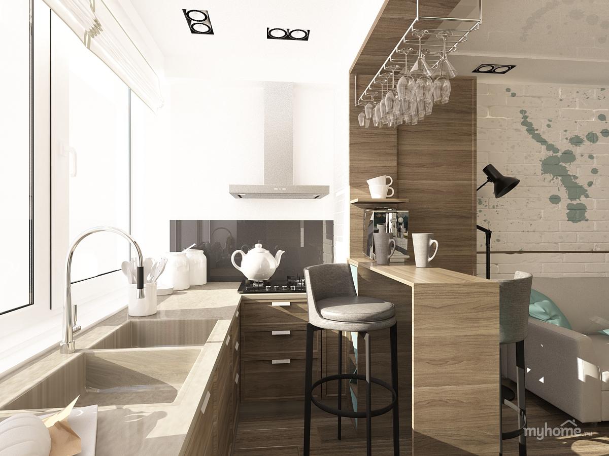 """Дизайн кухни на лоджии фото """" картинки и фотографии дизайна ."""