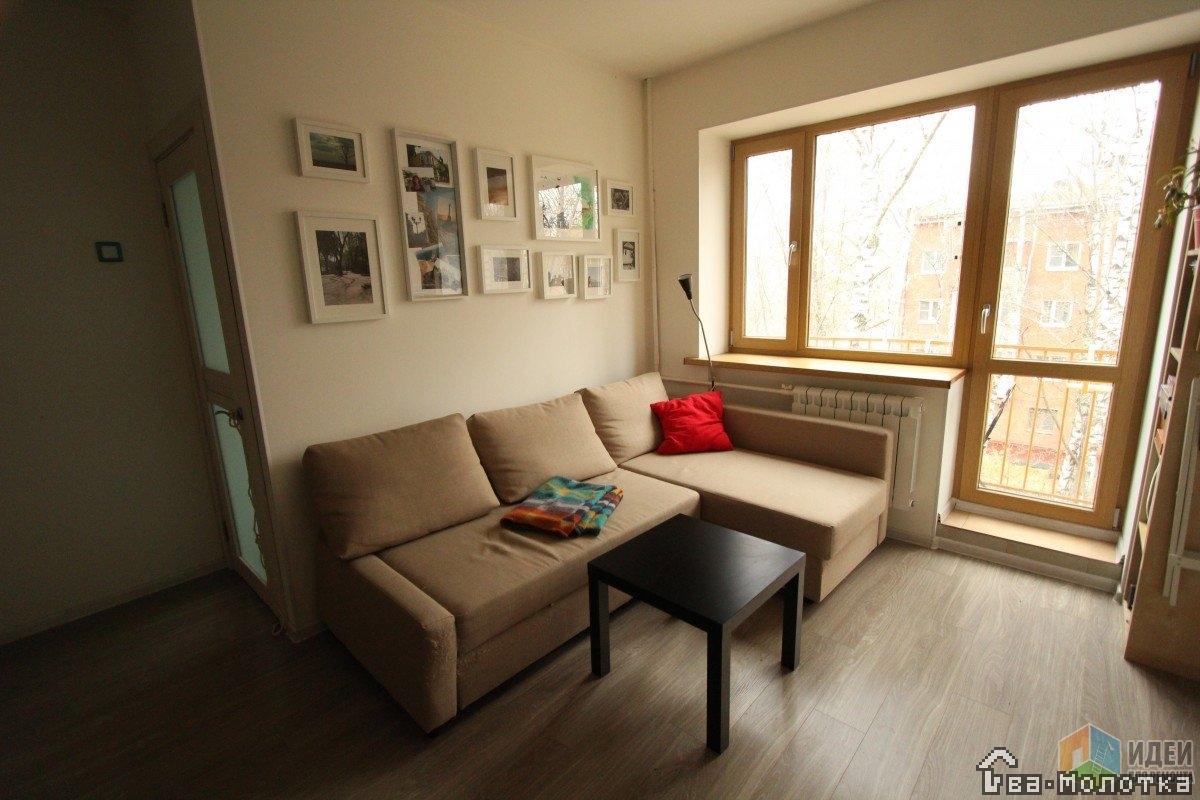 Гостиная в хрущевке - фото лучших идей оформления современно.