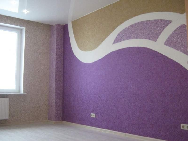 интерьер спальни жидкие обои картинки и фотографии дизайна квартир