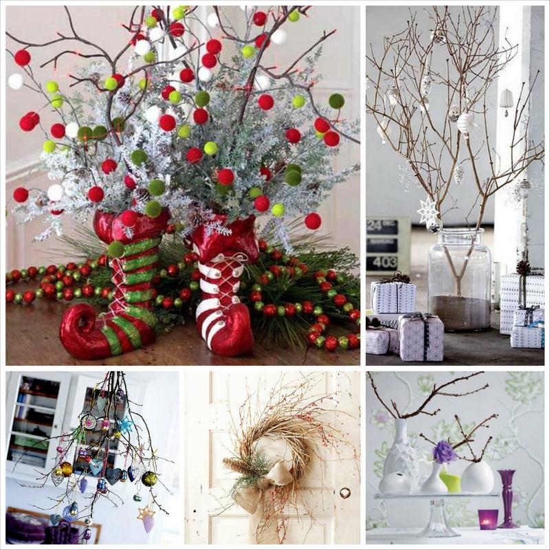 Новогодние украшения для дома своими руками фото
