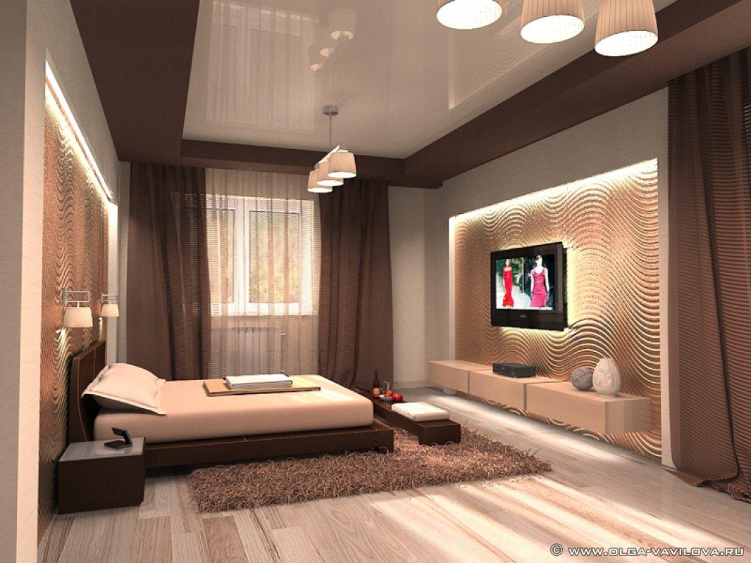 дизайн спален для мужчины