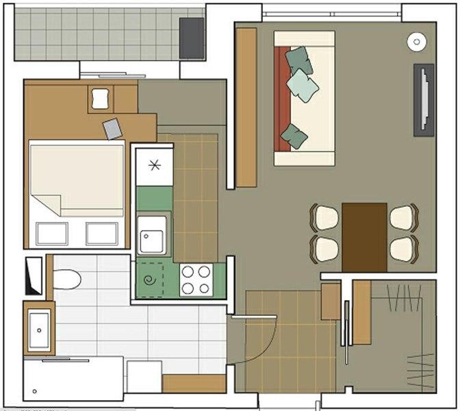 "Дизайн проект двухкомнатной квартиры п3м "" картинки и фотогр."