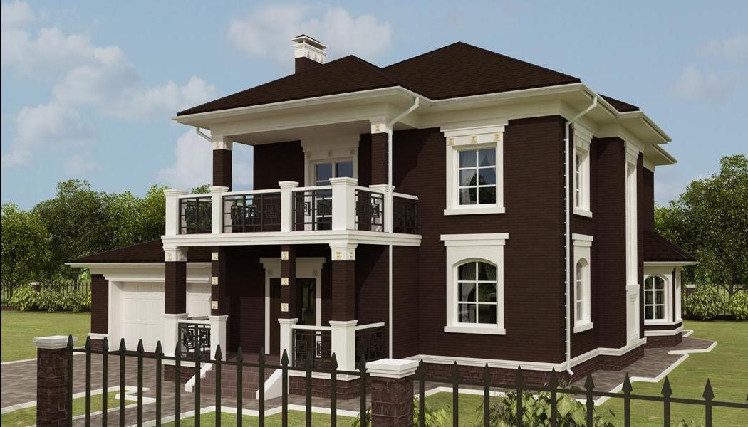 Дизайн домов снаружи