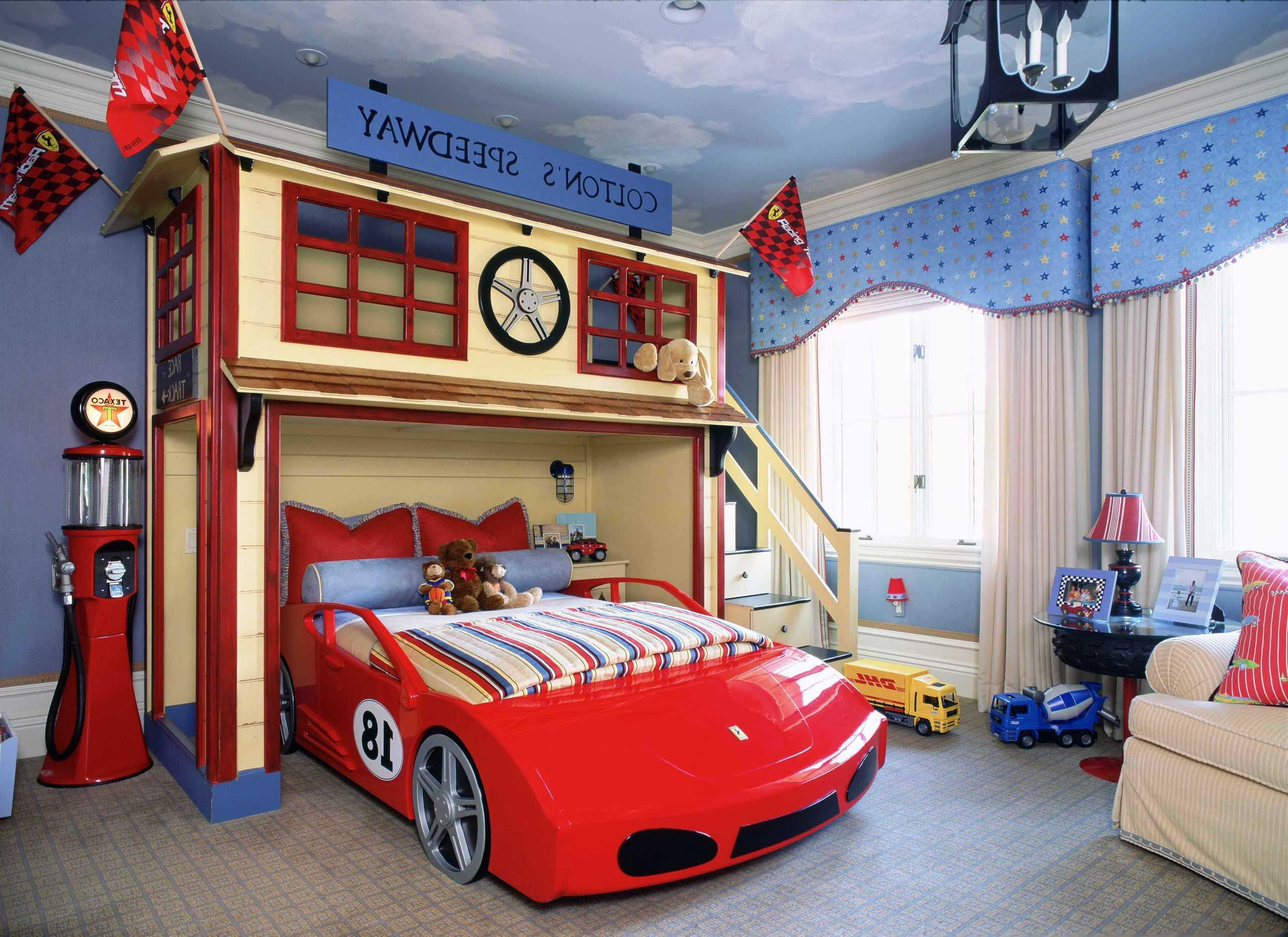 Дизайн комнаты для мальчика 5 лет