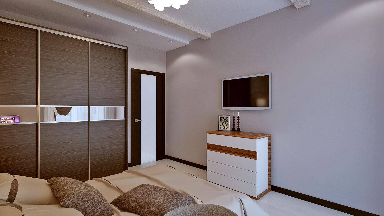 интерьер маленькой спальни в панельном доме картинки и фотографии