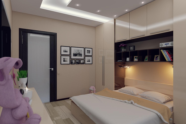 Дизайн спальни 10 кв м: фото и описание интерьера.