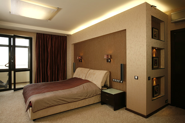 Дизайн спальни в квартире фотогалерея