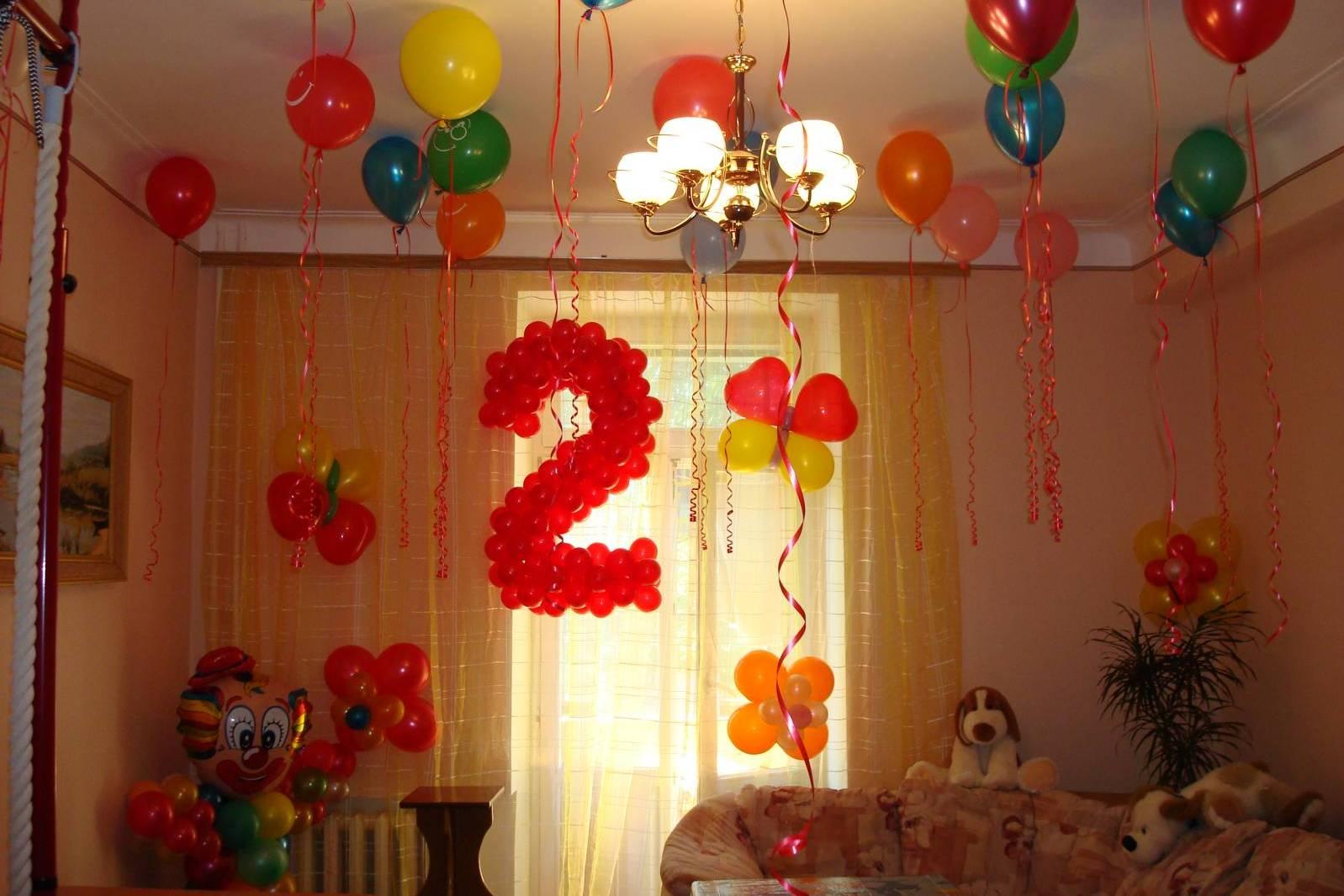 Как украсить комнату своими руками на годовщину