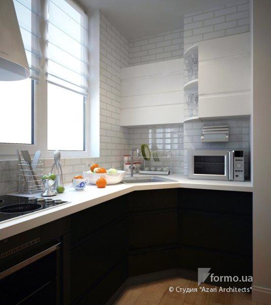 Холодильник на маленькой кухне  ФОТОидеи и интересные