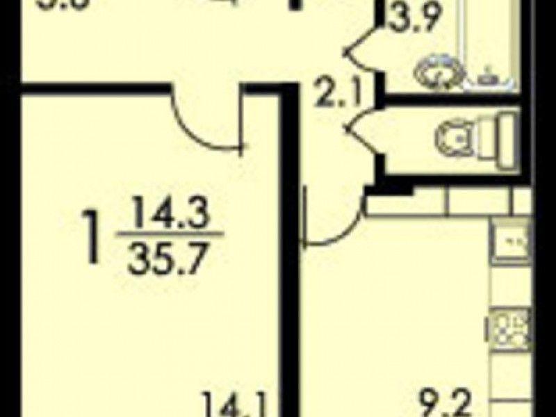 Однушка по адресу лазо ул. , 10, м.. расположена на 5 этаже,.