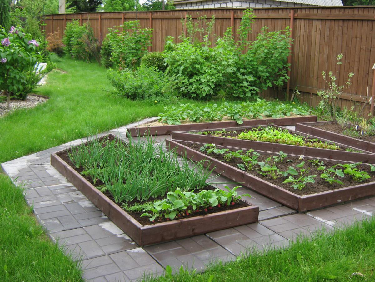 Огородный дизайн своими руками фото