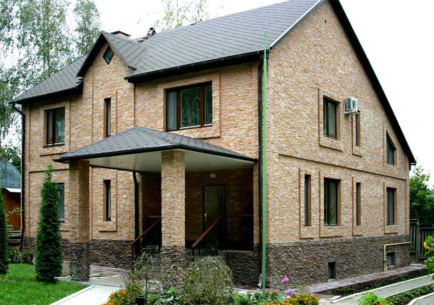 411Загородный дом внешний дизайн