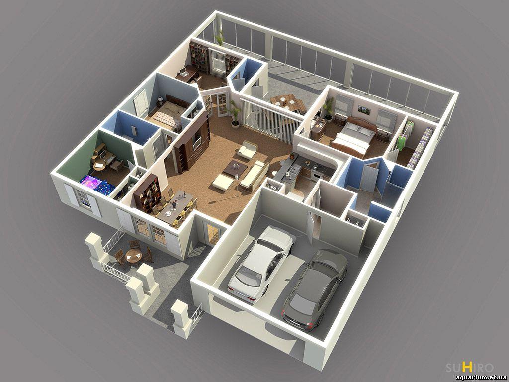 3-д дизайн квартиры онлайн