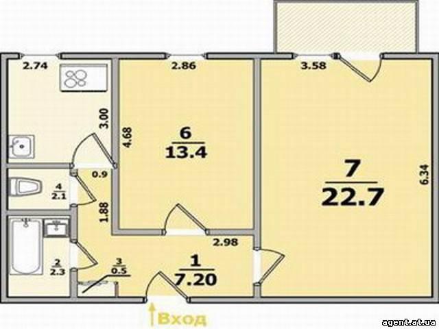 Продам 2 кімнатну панельку, Чернівці - дошка оголошень obyav.