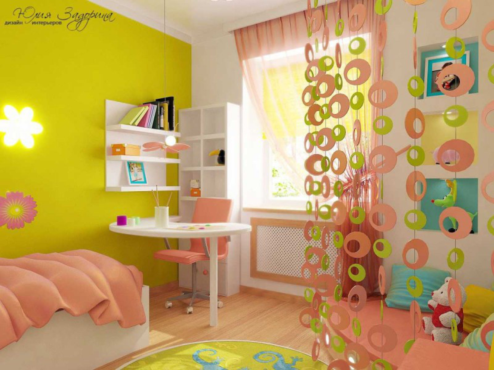 Интерьер детской комнаты своими руками 409