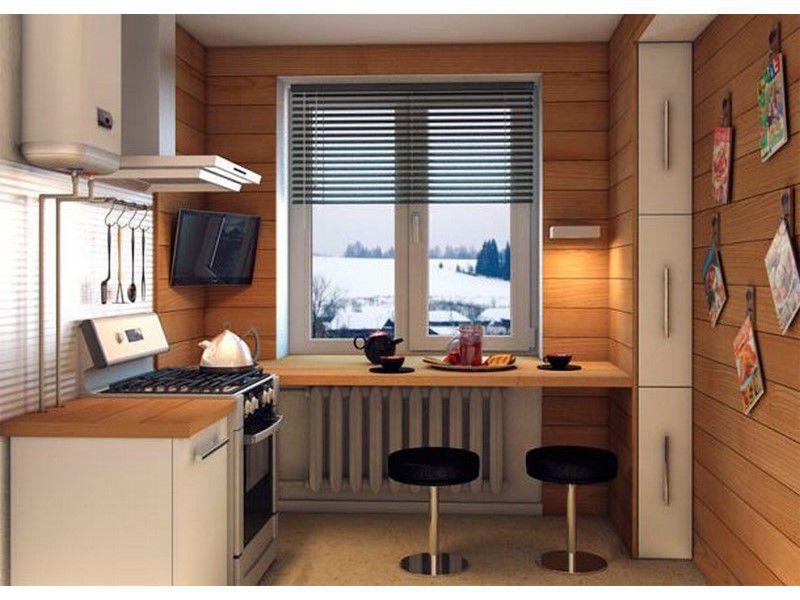 Дизайн маленькой кухни идеи дизайн кухни - фото, описание, с.