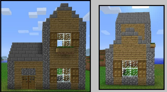Картинки как построить красивые дома в майнкрафте