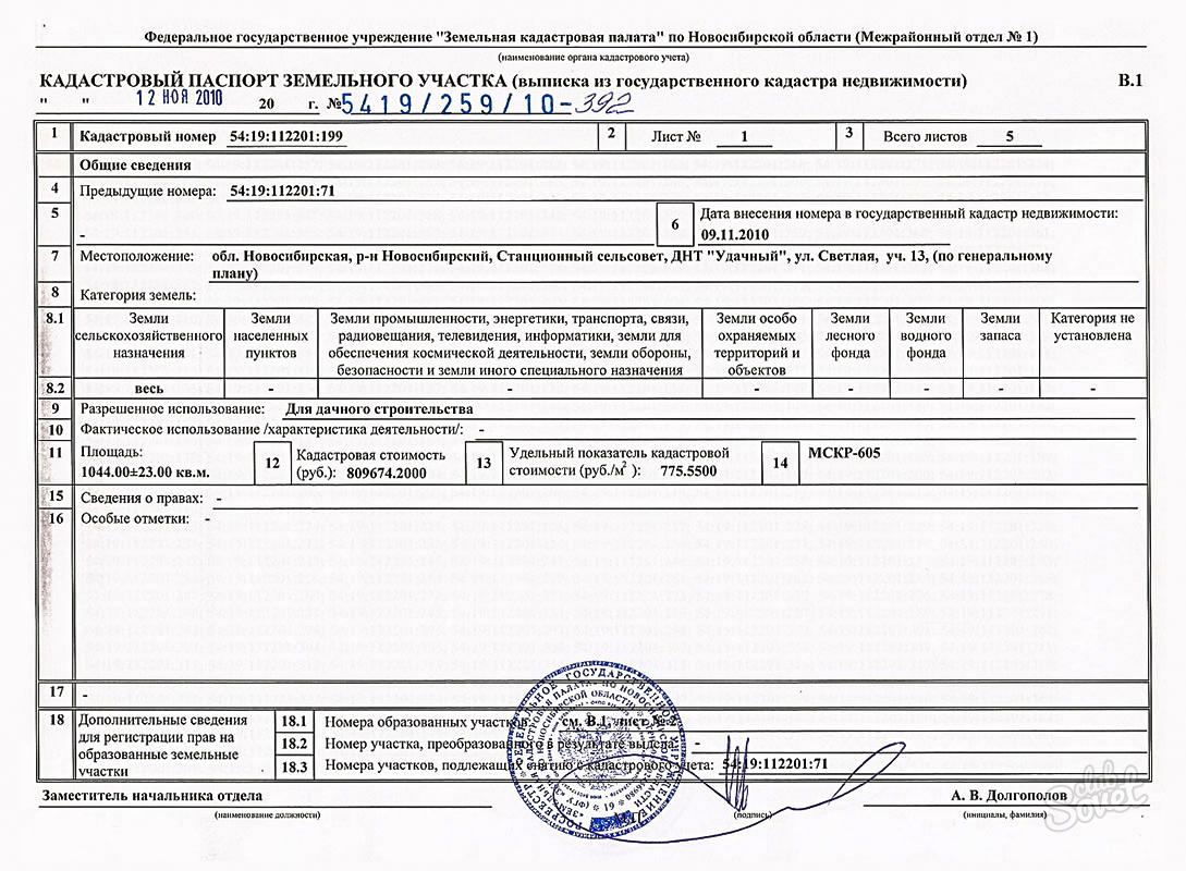 документы подаваемые на аренду земельного участка новый